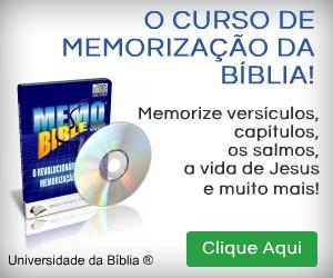 curso memorizar a biblia