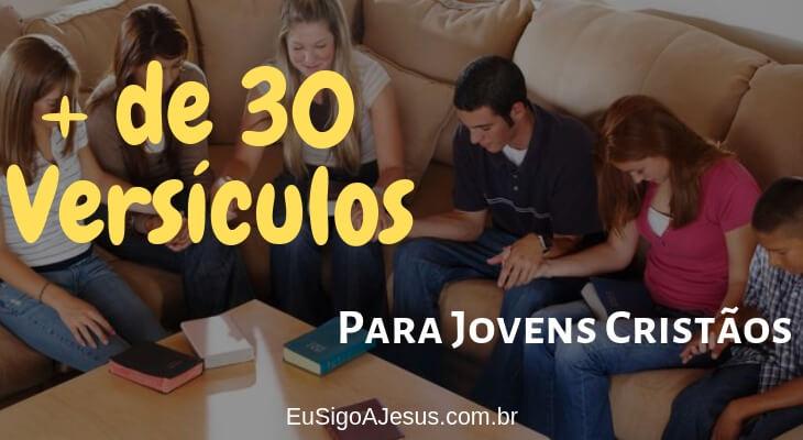 versículos bíblicos para jovens cristãos