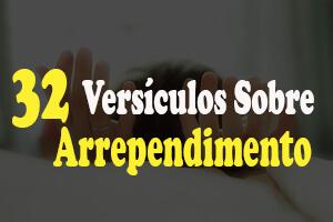 versículos sobre arrependimento